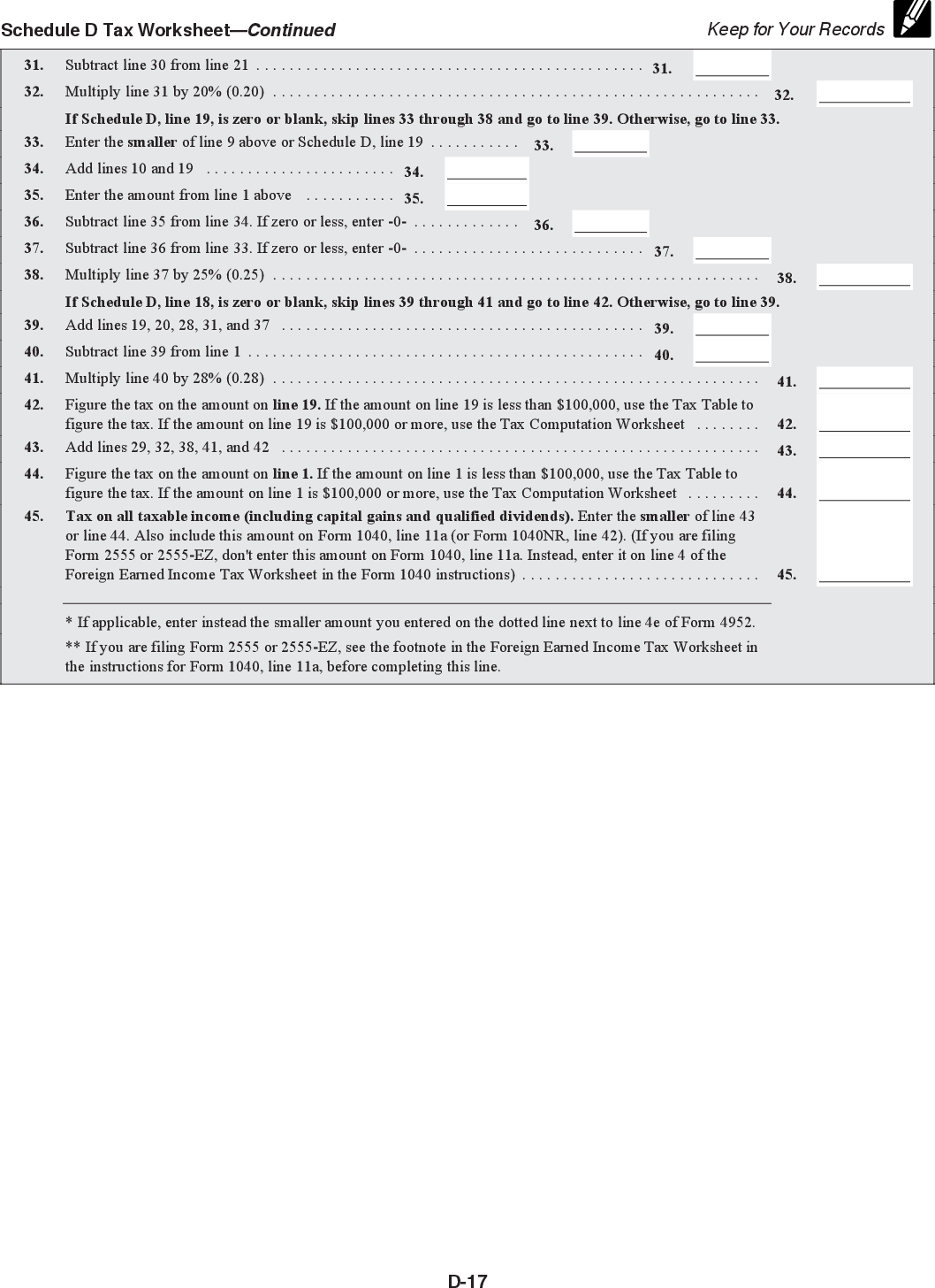 Form 8949 Instructions 2018
